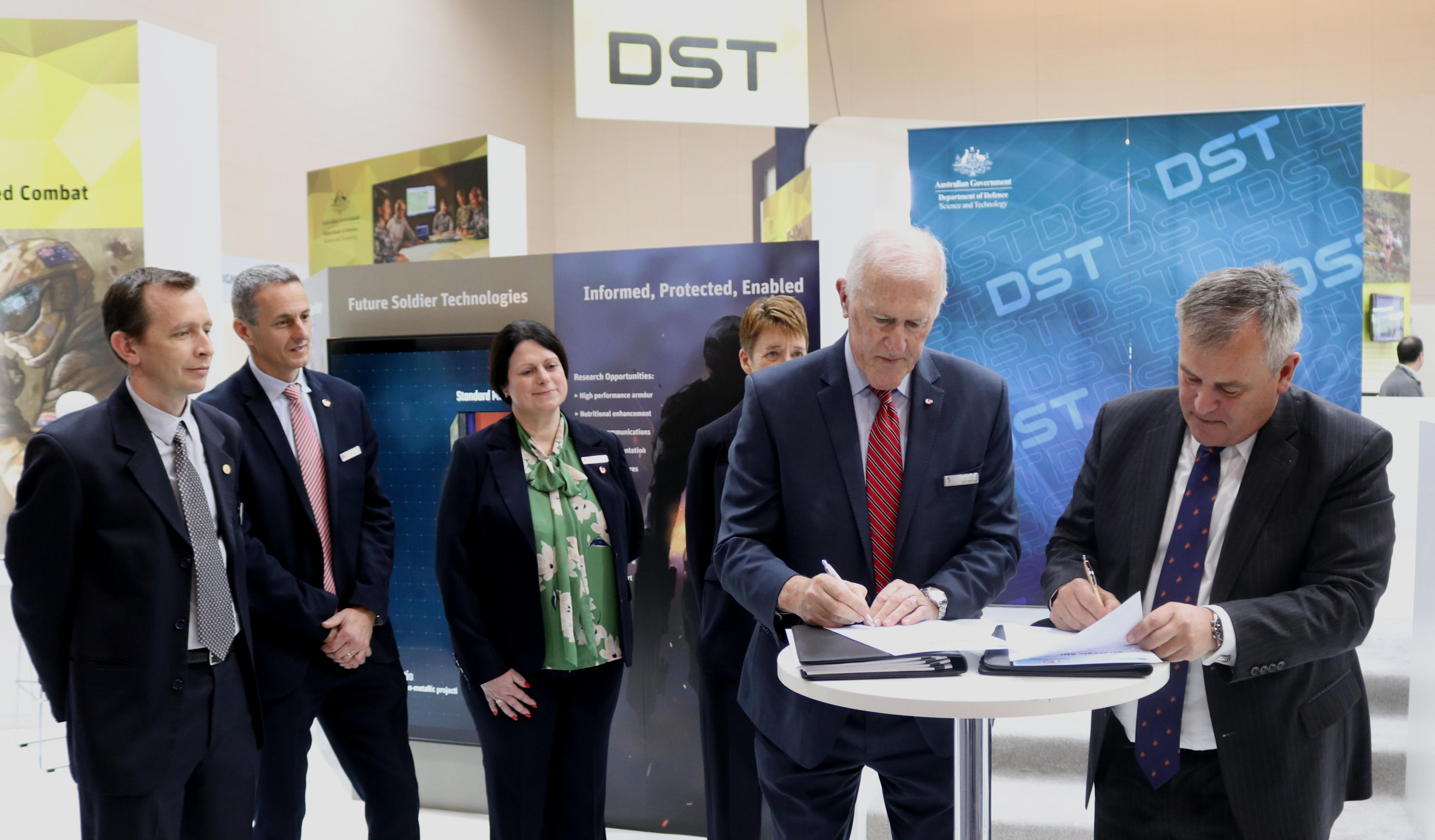 L3 and DST sign strategic alliance at Land Forces 2018